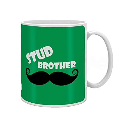 Indi ts Stud Brother Quote Printed Set of Mug 330 ml