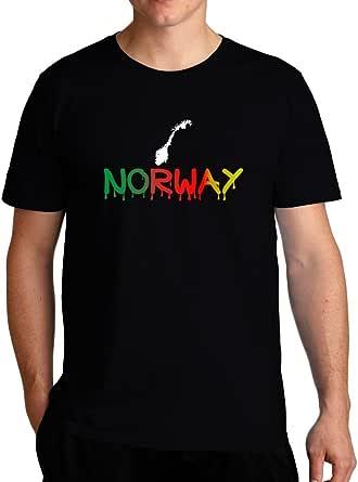 Eddany Dripping Norway T-Shirt
