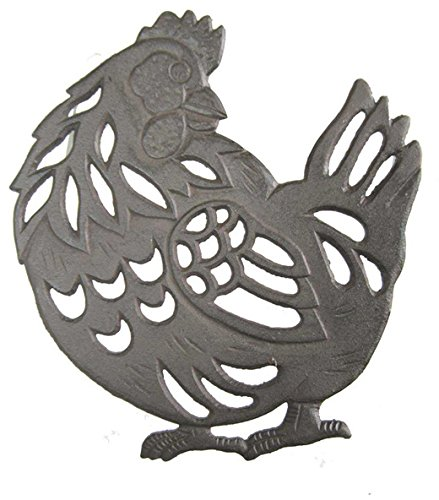 Cast Iron Hen Shaped Trivet