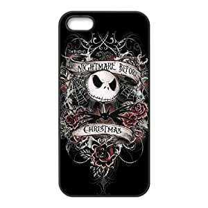 Nightmare Before Christmas iPhone 5 5s Cell Phone Case Black xlb-063980