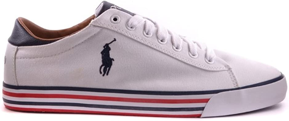 Polo Ralph Lauren - Zapatillas de deporte para hombre Blanco ...