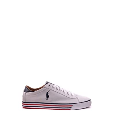 77cc3f975ff POLO Ralph Lauren - Baskets - Homme - Sneakers Harvey Stripe Sole Blanche -  40