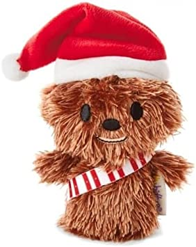 Hallmark – Tarjeta 25468863 Star Wars Chewbacca Navidad Itty Bitty – de Peluche