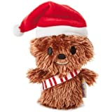 Hallmark 25468863 Star Wars Chewbacca Christmas Itty Bitty Soft Toy