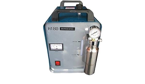 95L oxígeno hidrógeno al agua soldador polisseuse lustrador llama Generador de hidrógeno del agua acrílica 220 V/50: Amazon.es: Bricolaje y herramientas