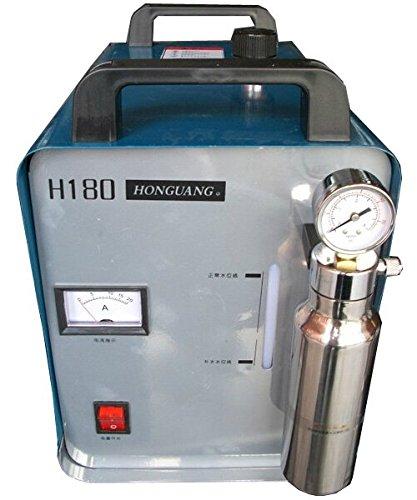 95L oxígeno hidrógeno al agua soldador polisseuse lustrador llama Generador de hidrógeno del agua acrílica 220