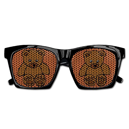 Xing Stars Colorful Summer Unisex Teddy Bear Doll Fashion Party Costume Sunglasses by Xing Stars