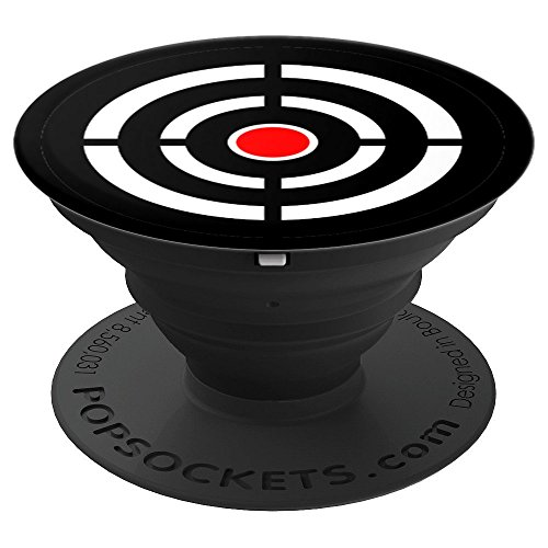 Bulls Eye Target Great For the Hunter Gun Enthusiast - PopSockets Grip and Stand for Phones and Tablets