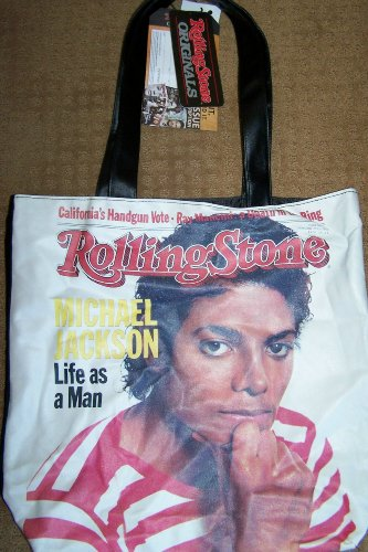 Michael Jackson Rolling Stone Magazine Cover Limited Edition Tote Bag ()