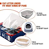 ZNOKA Cat Heavy Duty Litter Box Liners, 10 Count