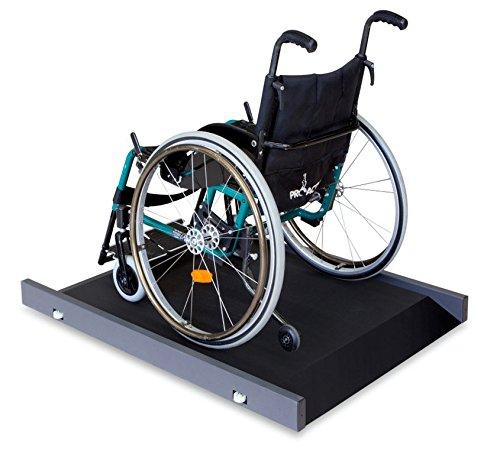 Báscula para silla de ruedas [Kern MWS 300K100M] con escasa altura para facilitar el acceso, con aprobación de homologación y médica, Campo de pesaje [Max]: ...