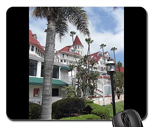 Mouse Pads - Hote Del Coronado Facade California San Diego Hotel