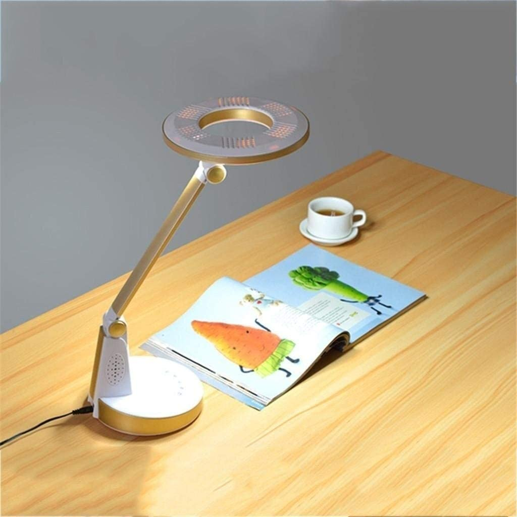 Smart led Lámpara Lámpara Lámpara de escritorio Lámpara de mesa de cuidado ocular, lámpara de lectura de control sensible táctil regulable simple for oficina, hogar, lectura, estudio, trabajo, 002