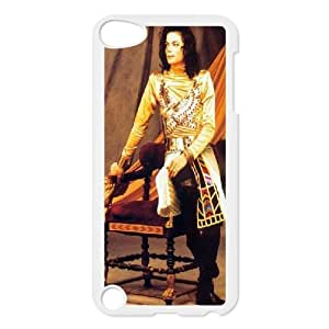 Tyquin Michael Jackson Golden Dress Ipod Touch 5 Case Cheap for Boys, Ipod Touch5 Case [White]
