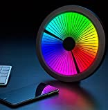 Chromatic: LED Color Spectrum Clock. Mind Blowing and Twisting Mesmerizing Excellent Clock. Full Color Spectrum. Nice to Decorate a Room. Limited Quantity! EXCLUSIVE Great Unique Gift