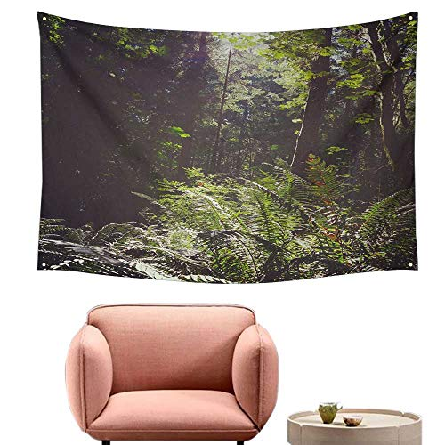 alsohome Tapestry for Bedroom Cool Wall Tapestry B V Couver Isl Sceni Lush Green Rainforest Dscape - Tapestry Bv