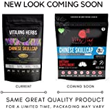Organic Chinese Skullcap Extract Powder (4oz-114gm) | 20:1 Concentration (Also Known As Baikal Skullcap)