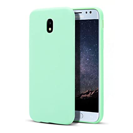 MoEvn Galaxy J3 2017 Funda, Carcasa para Samsung J3 2017, Case Cover TPU Suave Silicona, Slim Anti Skid Anti Rasguño Color Gel Funda para Samsung ...