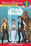 Star Wars: 3 Tales of Adventure (World of Reading: Level 2)