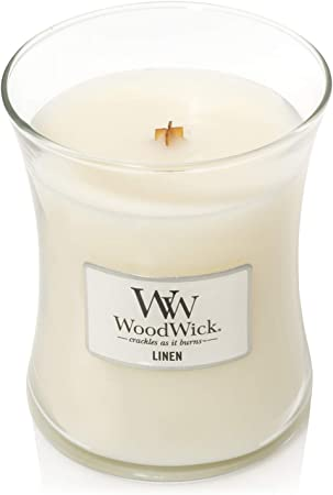 Woodwick Fireside Petit bocal bougie parfumée
