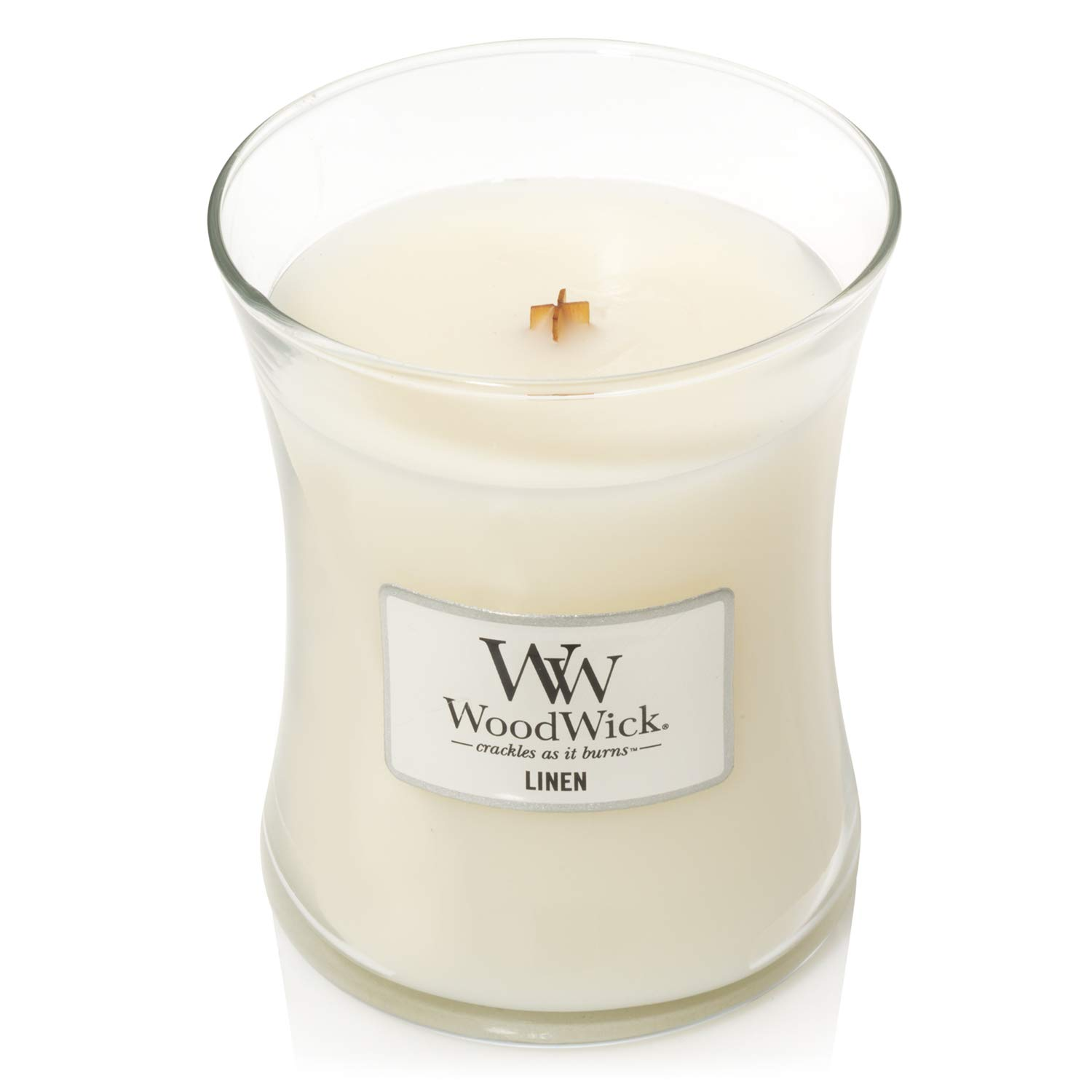 WoodWick 5038581057873 Candle Medium Linen, one Size