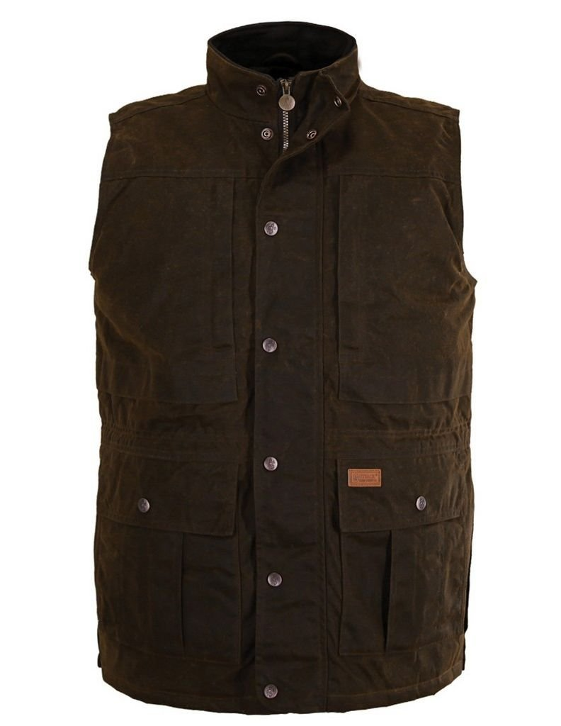 Outback Trading Deer Hunter Vest XXXL Bronze by Outback Trading