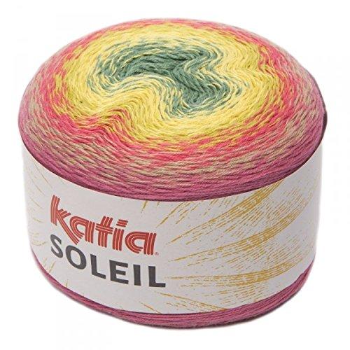 (Katia Soleil, Long Spectrum Cotton-Blend DK-Weight Yarn (ink, Green,)