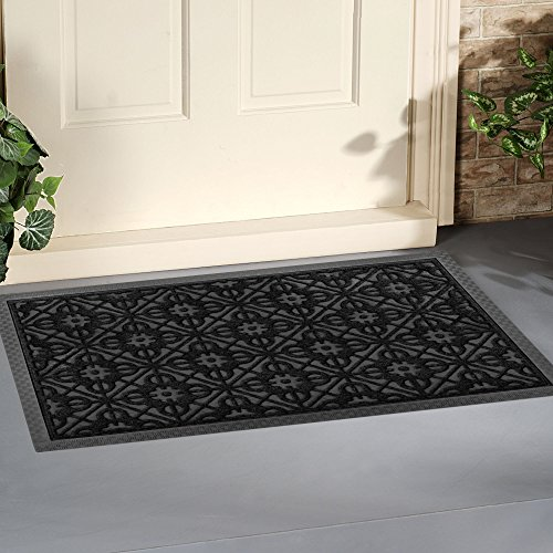 front door mat large outdoor indoor entrance doormat by. Black Bedroom Furniture Sets. Home Design Ideas