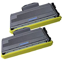 2 High Yield Inkfirst Toner Cartridge TN-360 (TN360) Compatible Remanufactured for Brother TN-360 Black MFC-7340 MFC-7345N MFC-7440N MFC-7840W HL-2140 HL-2170W DCP-7030 DCP-7040