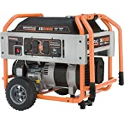 Generac: Portable Generator 10,000 Surge Watts, 8000 Rated Watts, 410c