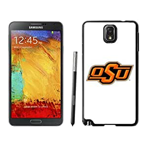 Beautiful And Popular Designed With NCAA Big 12 Conference Big12 Football Oklahoma State Cowboys 4 Protective Cell Phone Hardshell Cover Case For Samsung Galaxy Note 3 N900A N900V N900P N900T Black