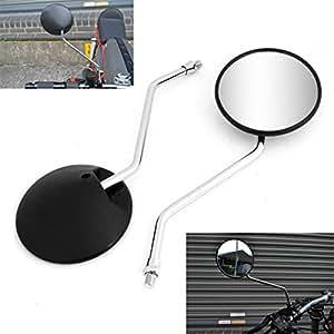Vize 10mm retrovisores laterales universal espejos moto for Espejo universal para moto