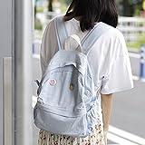 Toniker Fashion Soft Canvas Backpacks for Women
