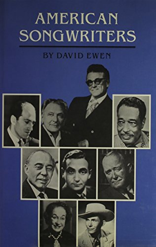 American Songwriters: An H.W. Wilson Biographical Dictionary