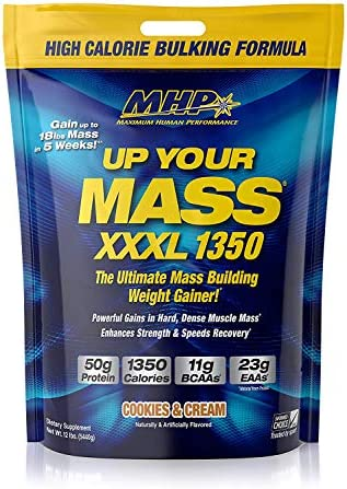 SPORTS NUTRITION SOURCE MHP Up Your Mass Xxxl 1350 Mass Build mit Kohlenhydraten, Kreatin und Glutaminplätzchen...