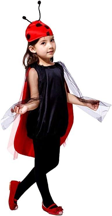 Disfraz de mariquita - niña - mariquita - disfraces - halloween ...