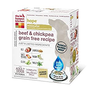 The Honest Kitchen Hope Dehydrated Minimalist Limited Ingredient Dog Food, 10 lb