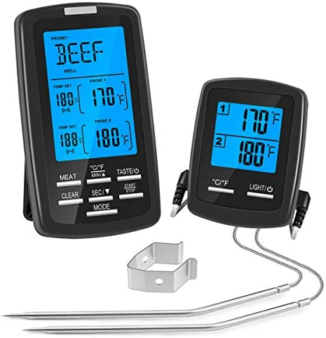 Wireless Thermometer Waterproof Digital Grilling