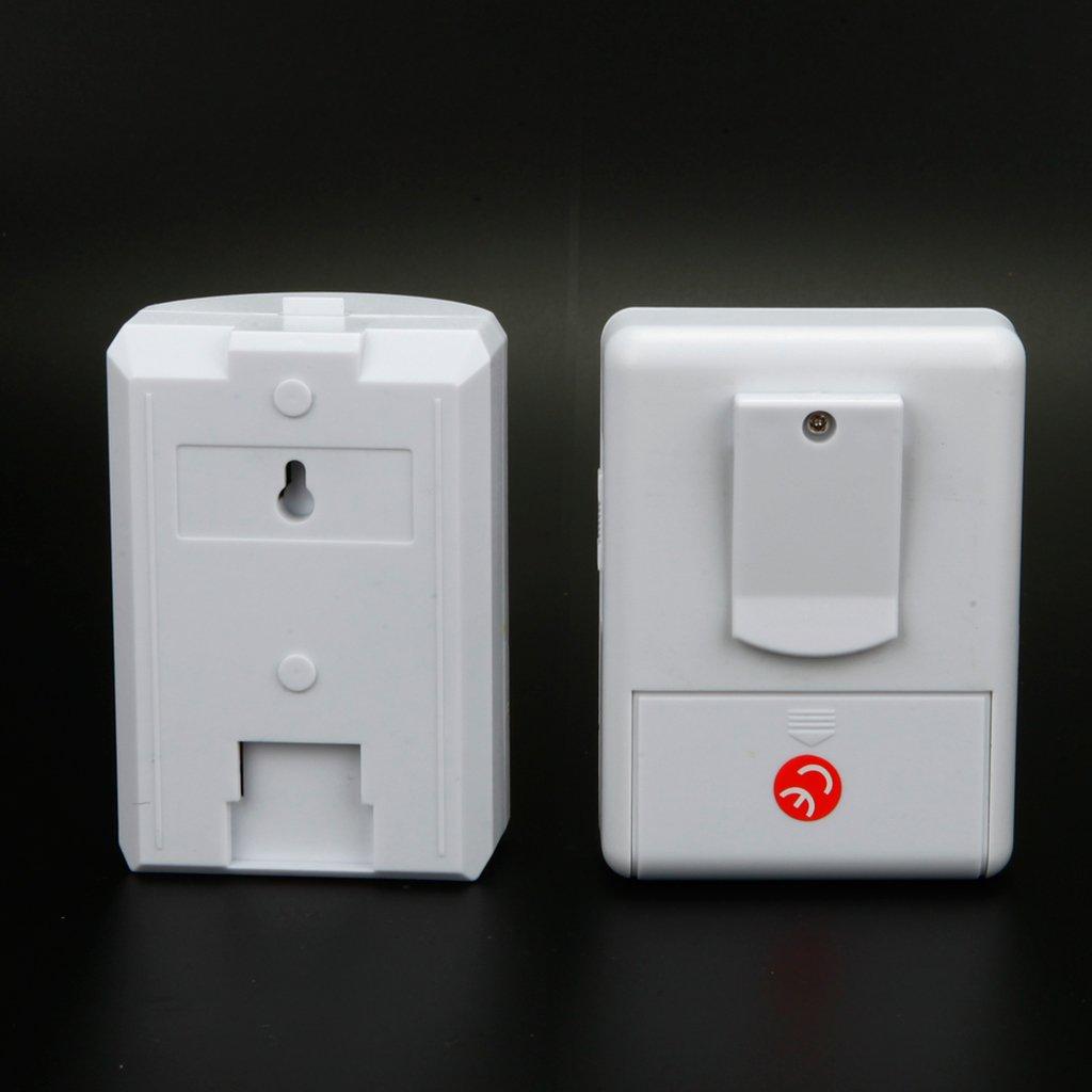 Baoblaze Digital LCD Cordless Door Chime 16 Chime Tunes Infrared Motion Sensor Door Bell Remote by Baoblaze (Image #4)