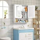 Tangkula Bathroom Cabinet, Wall Mount Storage
