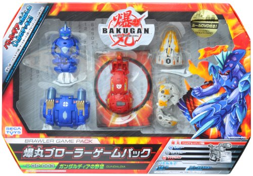 Bakugan BRAWLER GAME PACK GP-003 Gundaldia