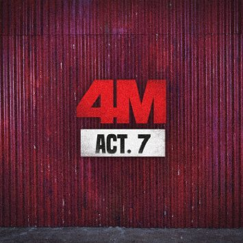 4MINUTE - ACT. 7 (7th Mini Album) CD with Extra Gift Photocards Set