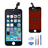 Replacment LCD Digitizer Assembly touch screen for iPhone 5c black +all tools
