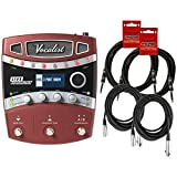 Digitech VLHM Vocalist Live Harmony Multi Effects Pedal w/ 4 Cables