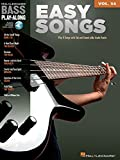 Bass Play Along Easy Songs: 34 Book and Online Audio