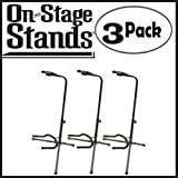 : On Stage Classic Guitar Fret Rest Single Guitar Stands 3 Pack