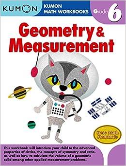 Grade 6 Geometry & Measurement: Kumon: 9781934968567: Books ...