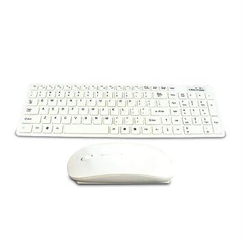 VBGFRTD Combinación de Teclado y Mouse 2.4g Teclado ...