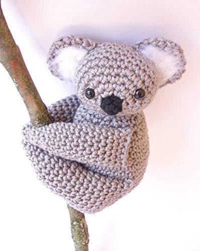 Koala de peluche, peluche de Koala, Koala de ganchillo, Amigurumi koala