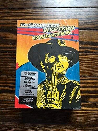 The Spaghetti Western Collection (Run Man Run / Mannaja / Django Kill / Django) by Blue Underground